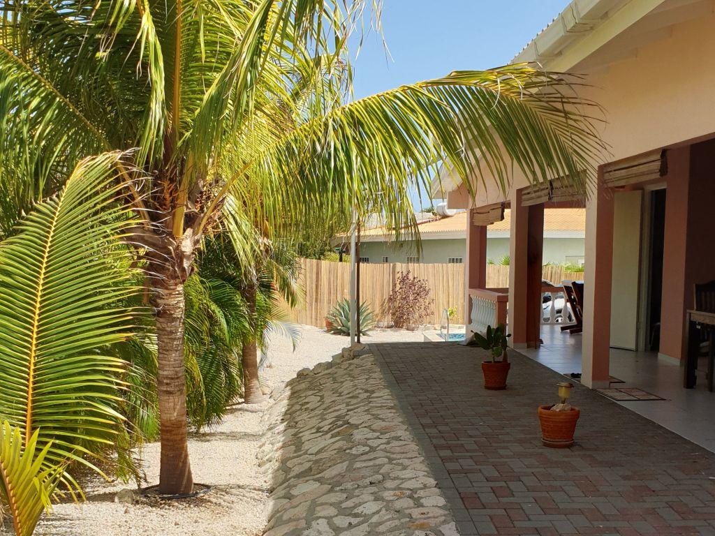 Achterkant bungalow